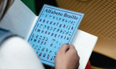 Braille writing system